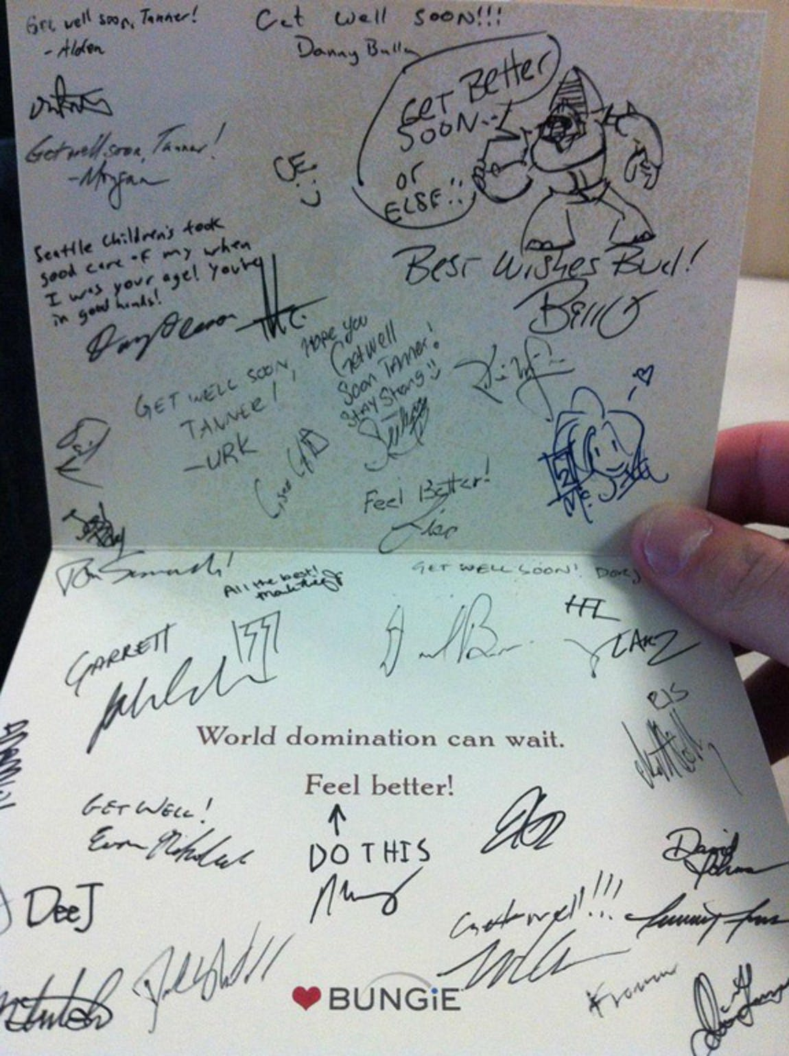 Card from Bungie Studios