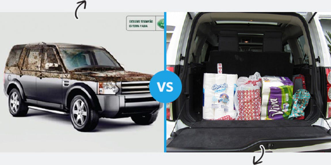 Land Rover Perception vs. Reality