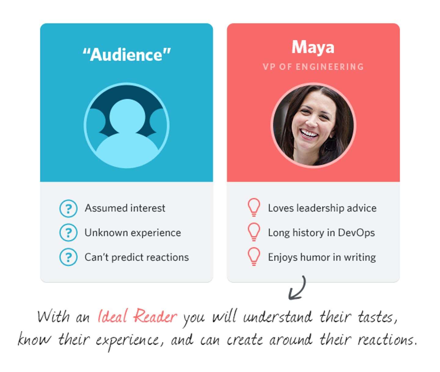 Audience vs. Ideal Reader