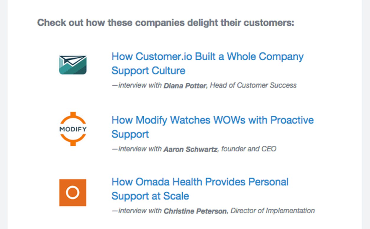 successful companies at customer support