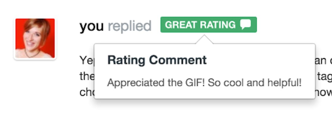 rating comment