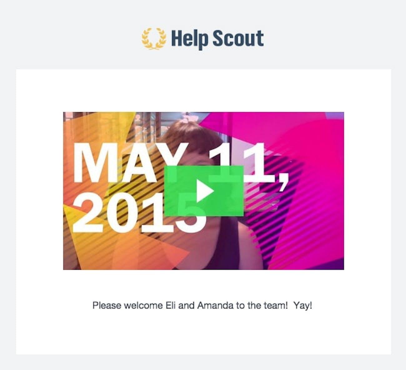 Help Scout Team Updates