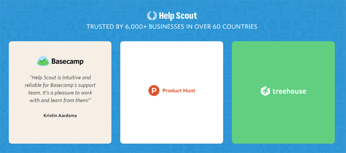 Help Scout customers