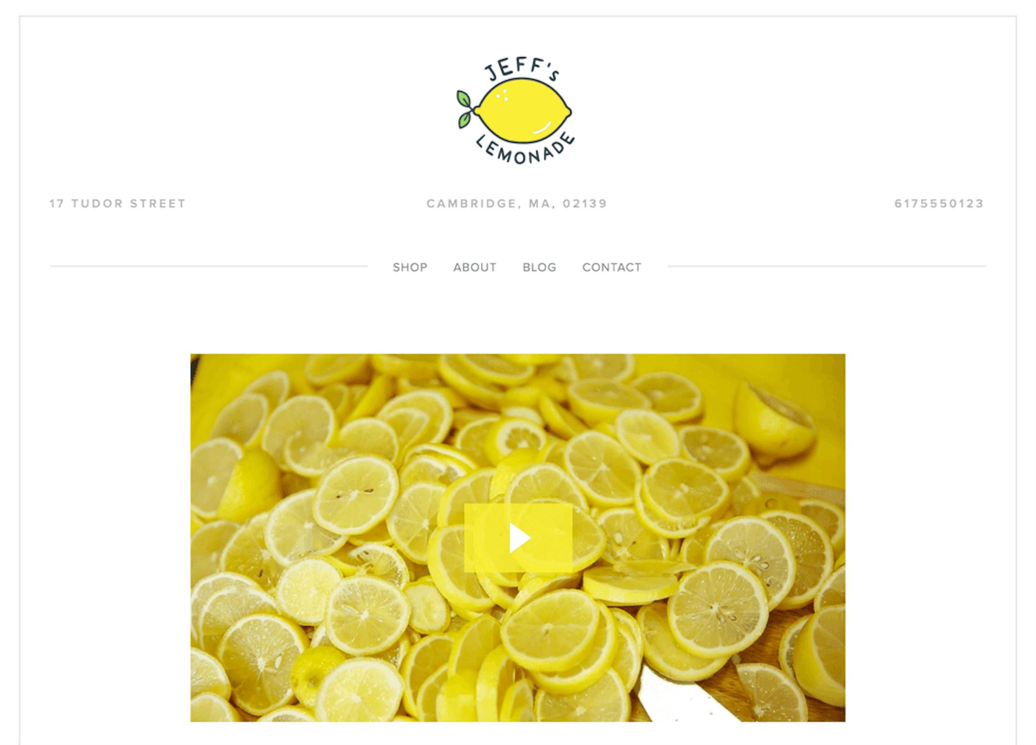 Jeffs Lemonade
