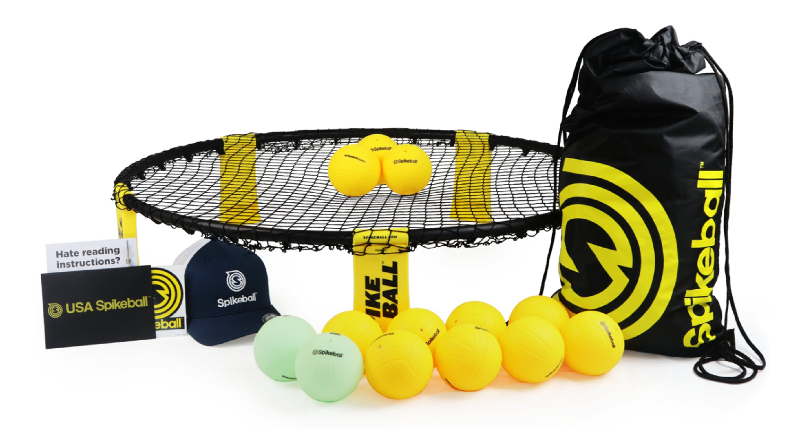 Spikeball's Road to Victory Kit