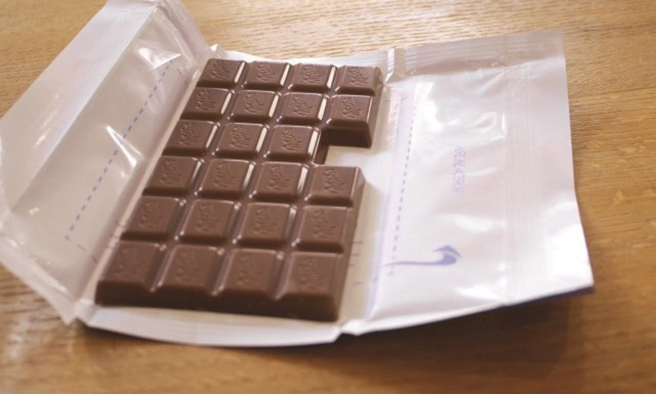 Milka Chocolate - Missing Square