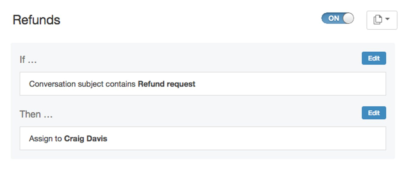 Workflow: Refunds
