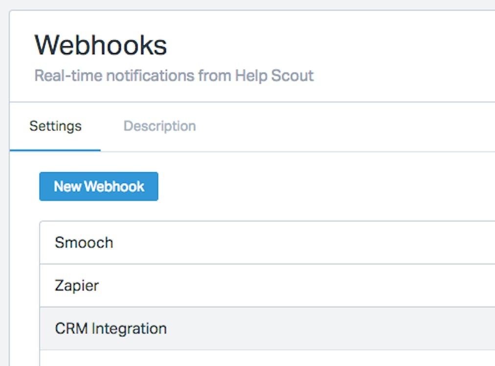 Multi-instance webhooks