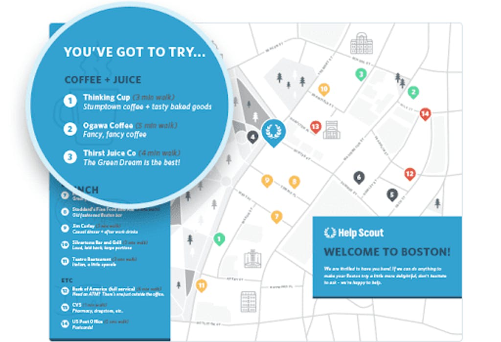 Welcome Map