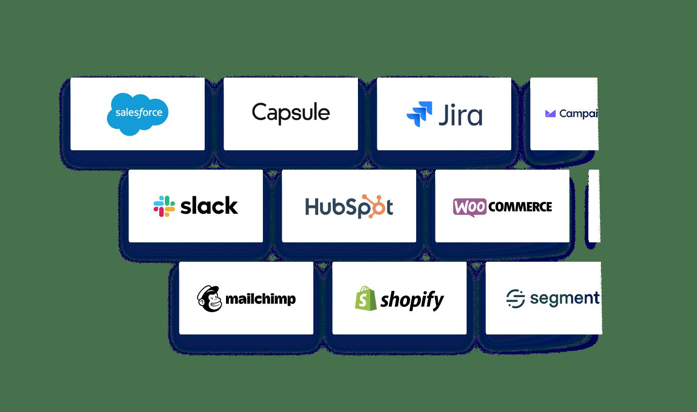 Integrations: Screenshot