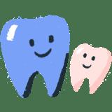 Illustration: Smiling teeth