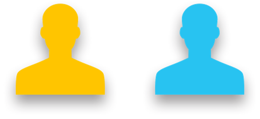 Choose between two objects or groups
