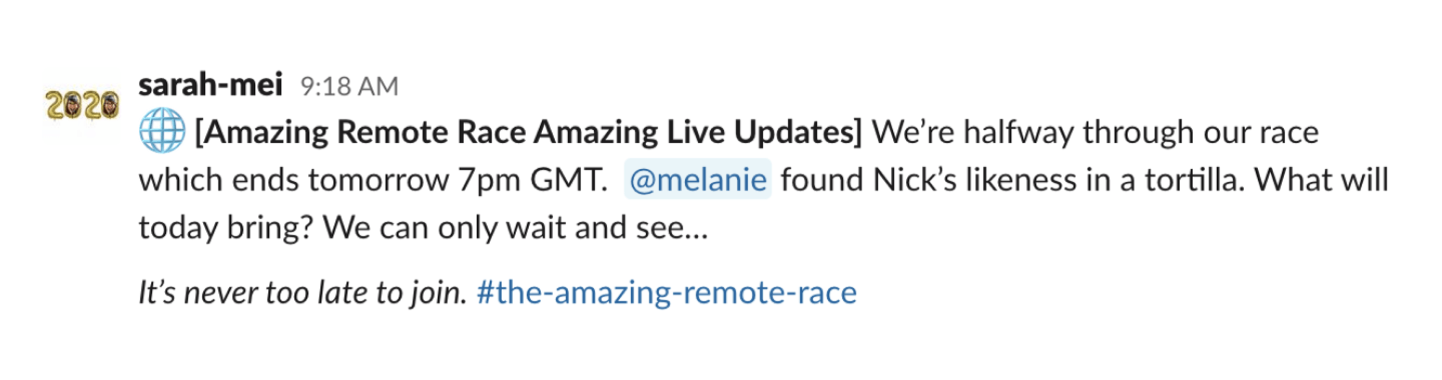 the amazing remote race update