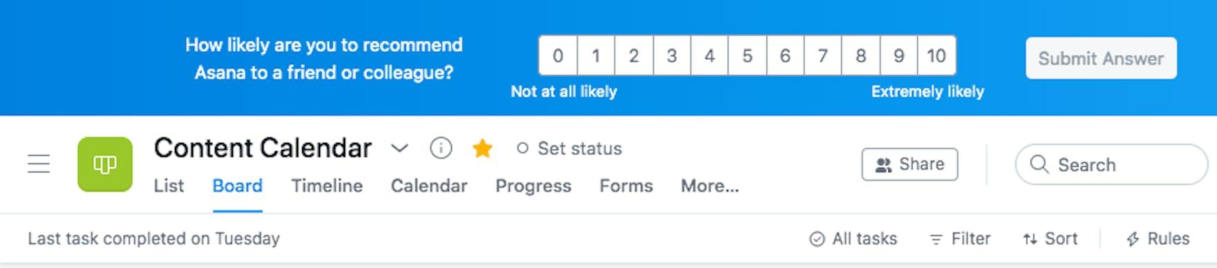 example asana customer satisfaction survey