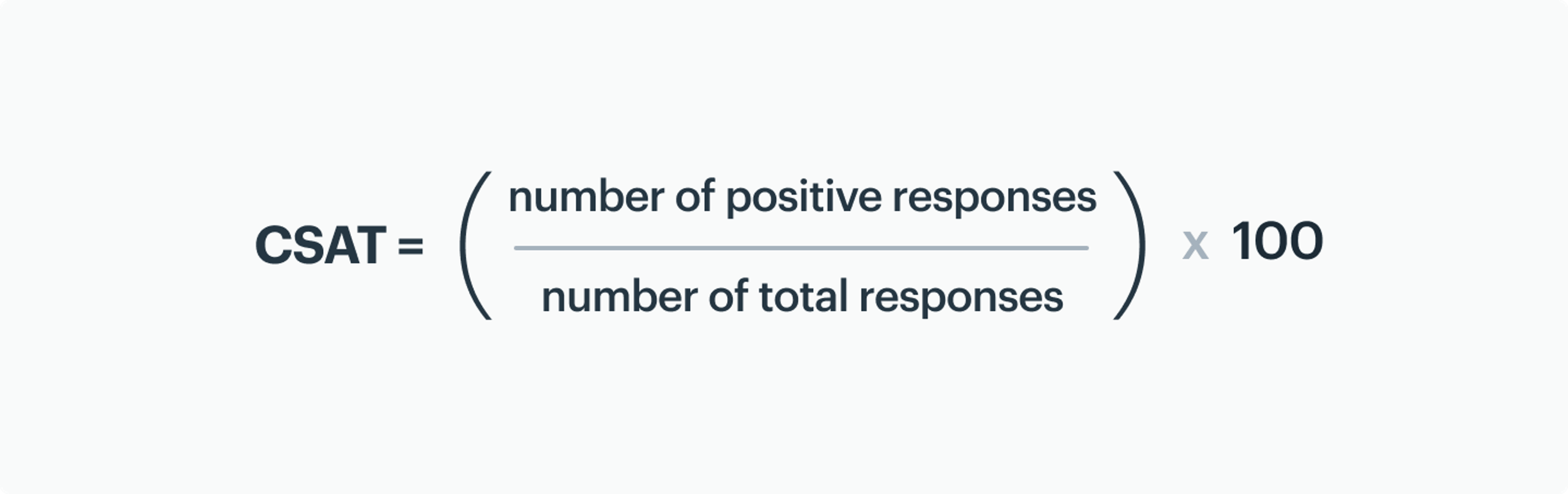 how to calculate customer satisfaction score