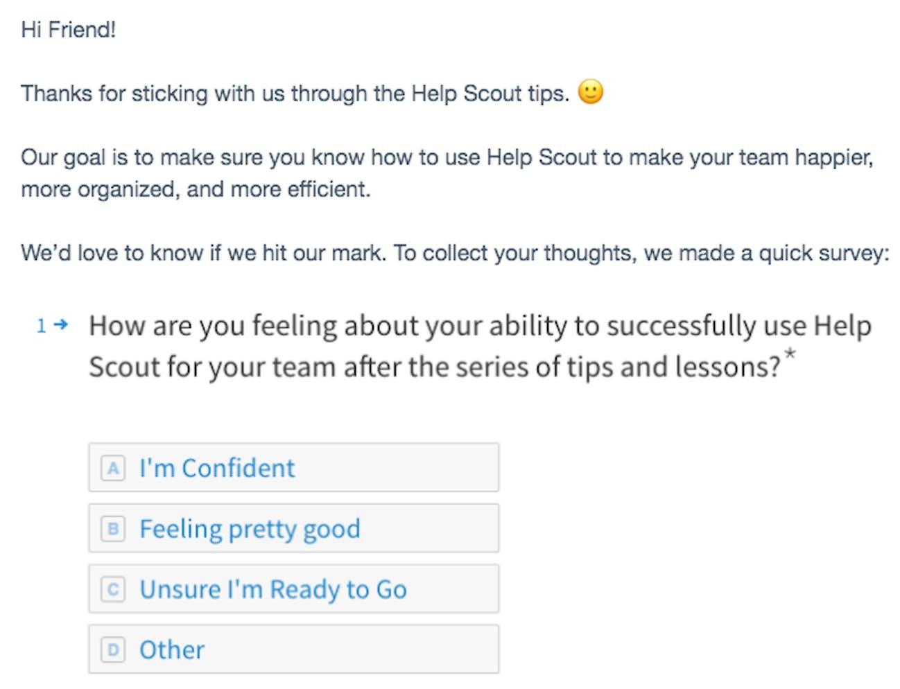 help scout example csat survey