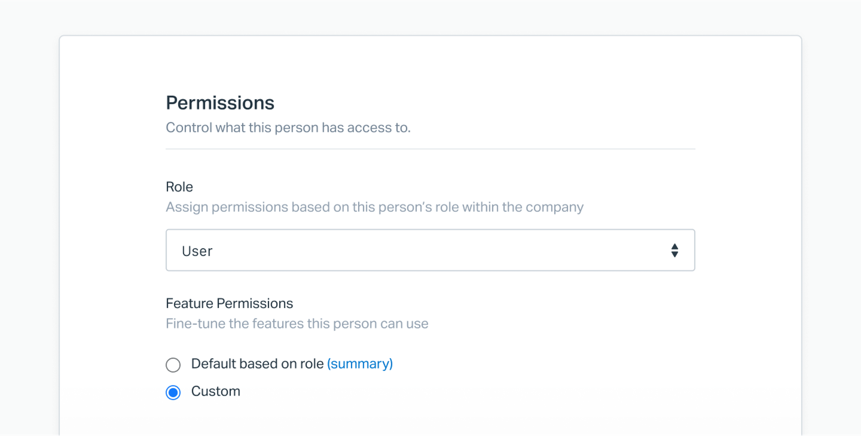 advanced permissions by user in Help Scout