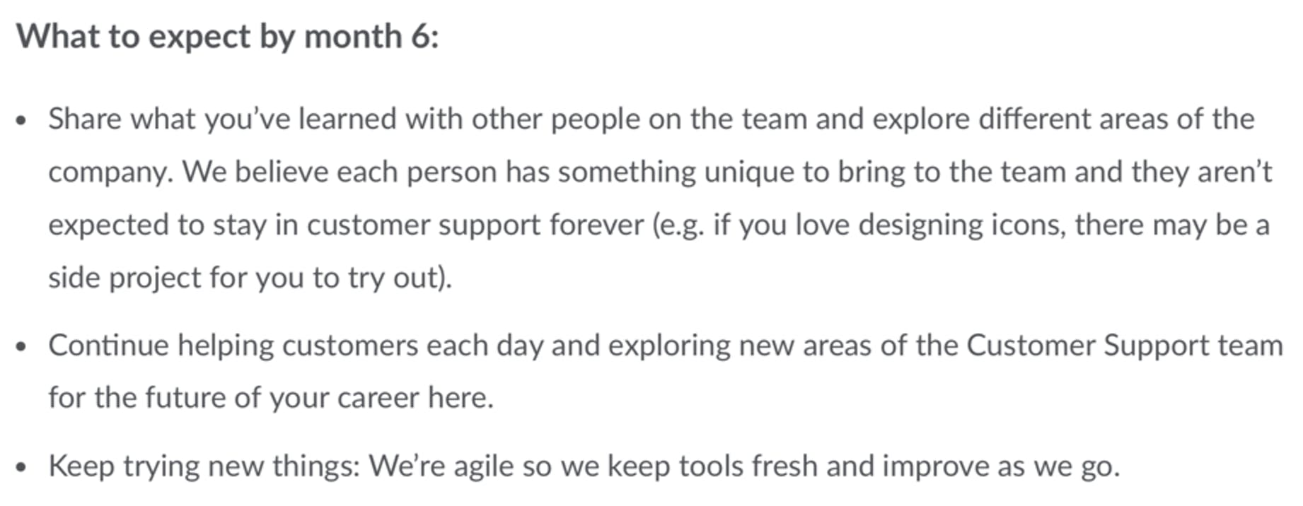 1password customer support representative job description