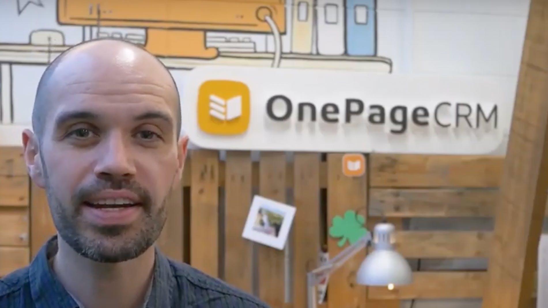 Customer Story: OnePageCRM