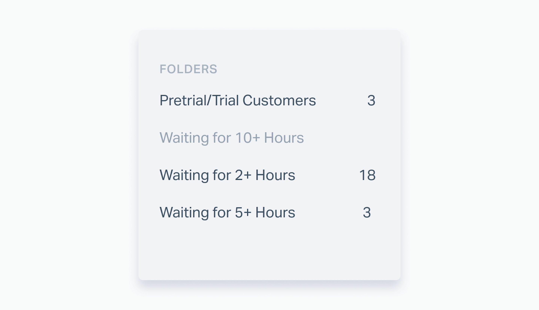 folders in help scout